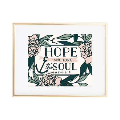 Hebrews 6:19 Print