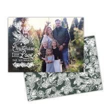 Load image into Gallery viewer, White Pine Greeting Card Printable