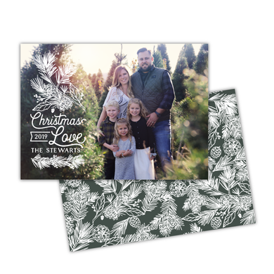 White Pine Greeting Card Printable