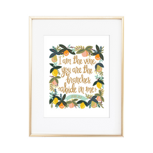 Load image into Gallery viewer, Abide in Me - John 15:5 Print