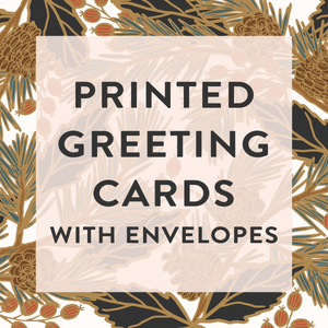 "Printed 5x7"" Greeting Cards with Envelopes"