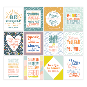 Kids Encouraging Wall Cards