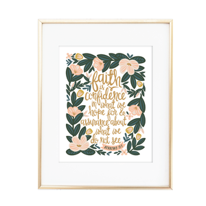 Hebrews 11:1 Print