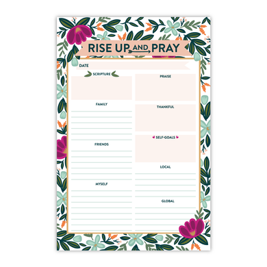 Rise Up & Pray Notepad