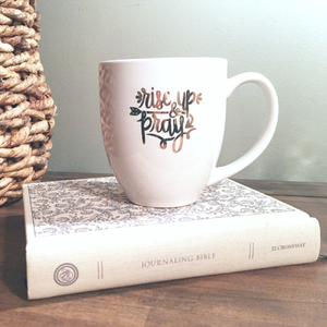 BLEMISHED Rise Up & Pray Mug