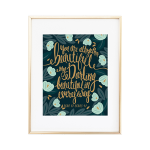 Song of Songs 4:7 Print