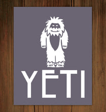 Load image into Gallery viewer, Yeti Print