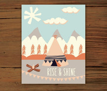 Load image into Gallery viewer, Rise and Shine & Sleep Tight Prints