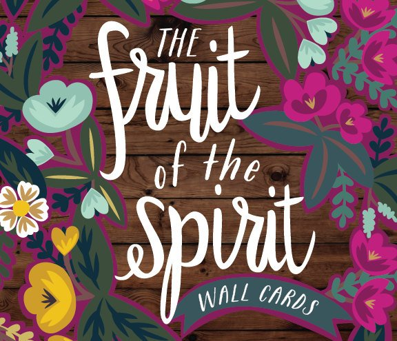 The Fruit of the Spirit 8x10 Wall Cards