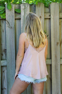 PRETTY IN PINK CAMI TOP