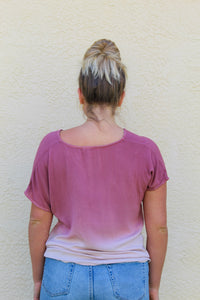 UNDER THE SUNSET OMBRE TOP
