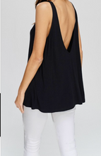 Load image into Gallery viewer, BASIC BLACK TANK TOP