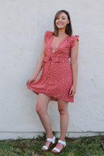 Load image into Gallery viewer, Sun Kissed Polka Dot Dress