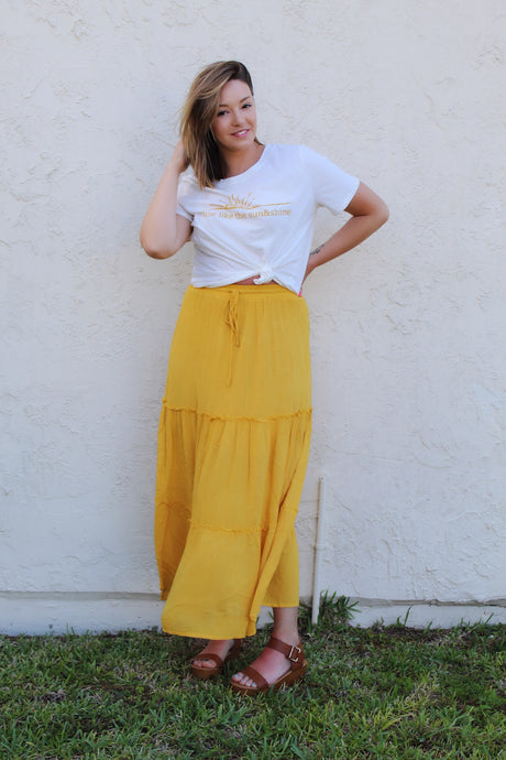 Fiesta Feels Maxi Skirt