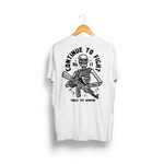 Men's Crew T (Continue to Fight design)