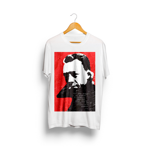 Albert Camus design (Men's Bi-blend T-shirt)
