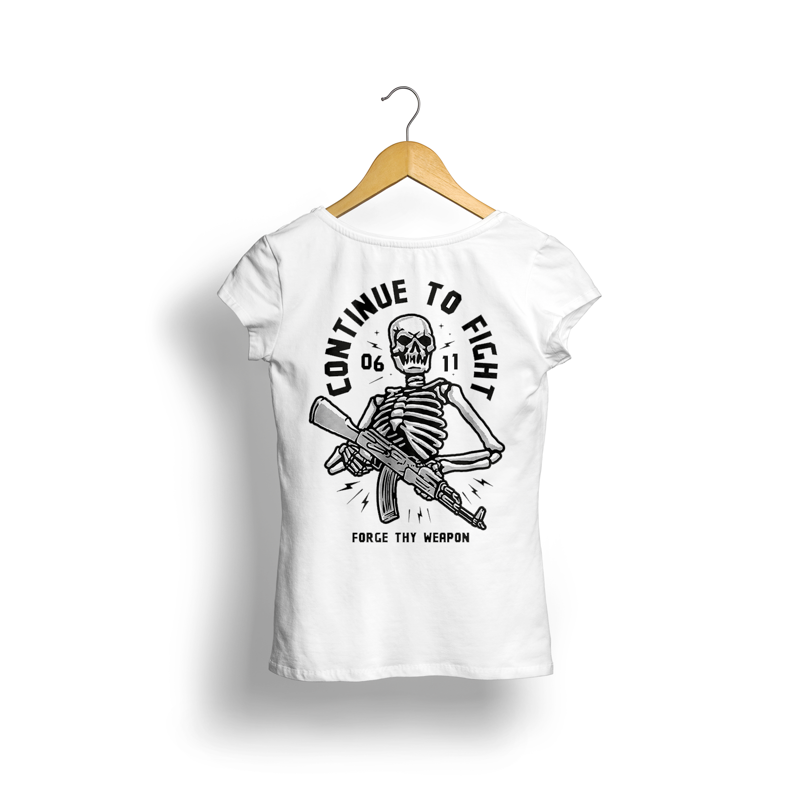Women's Crew T (Continue to Fight design)