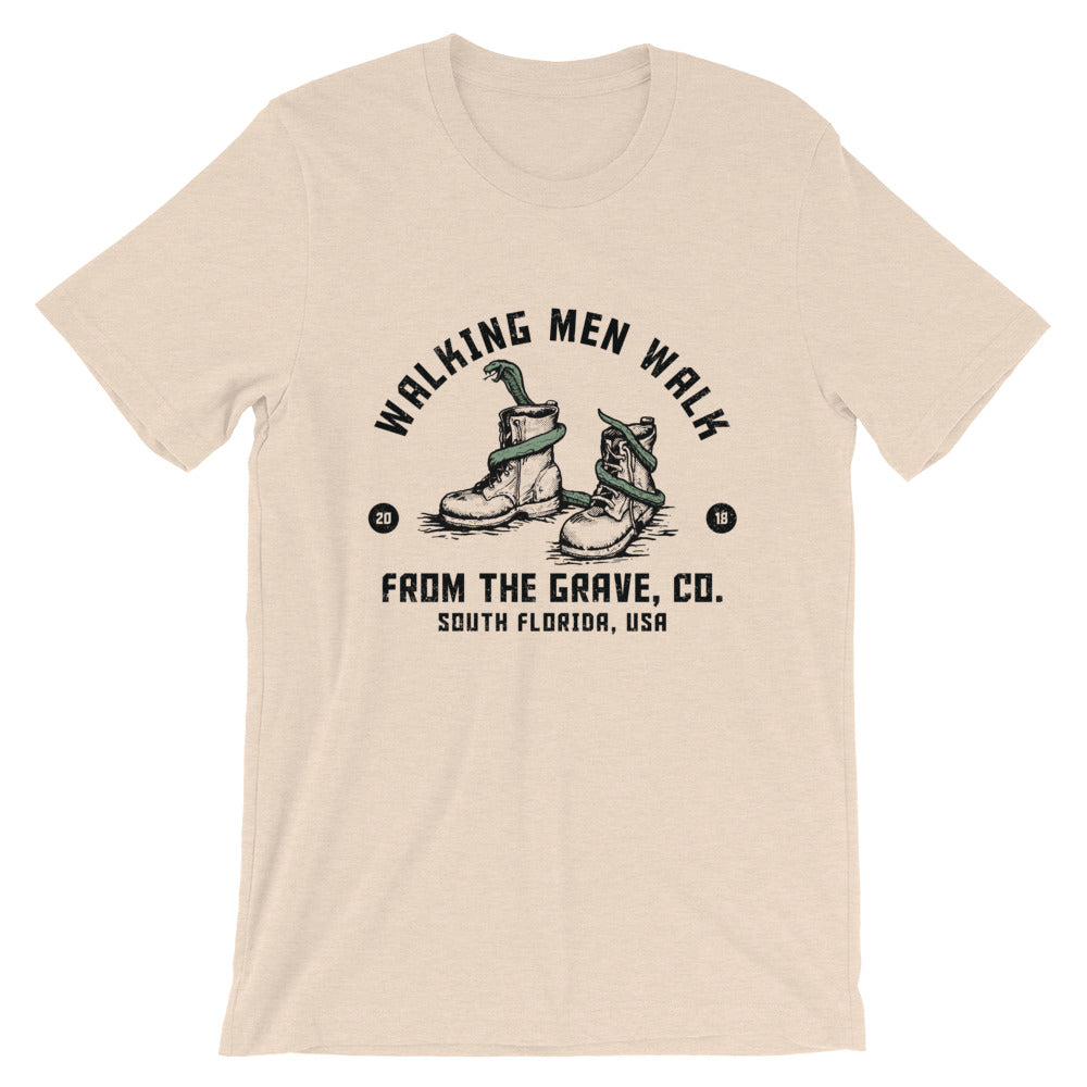 Walking Man Short-Sleeve Unisex T-Shirt