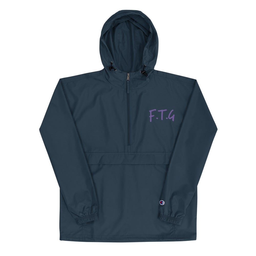 FTG Embroidered Champion Packable Jacket