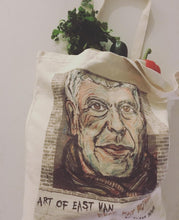 Load image into Gallery viewer, Anthony Bourdain Canvas Tote Bag