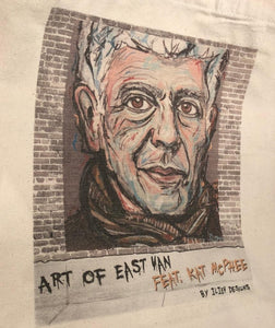 Anthony Bourdain Canvas Tote Bag