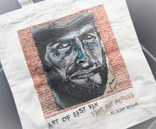 Load image into Gallery viewer, Clint Eastwood Canvas Tote Bag