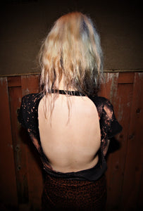Mister, We Are the Weirdos - Backless Distressed Tee