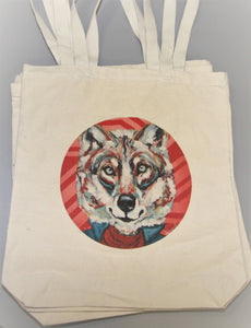 Fantastic Mr. Wolf Canvas Tote Bag