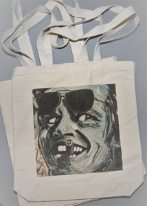 Jack Nicholson Canvas Tote Bag
