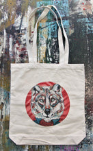 Load image into Gallery viewer, Fantastic Mr. Wolf Canvas Tote Bag