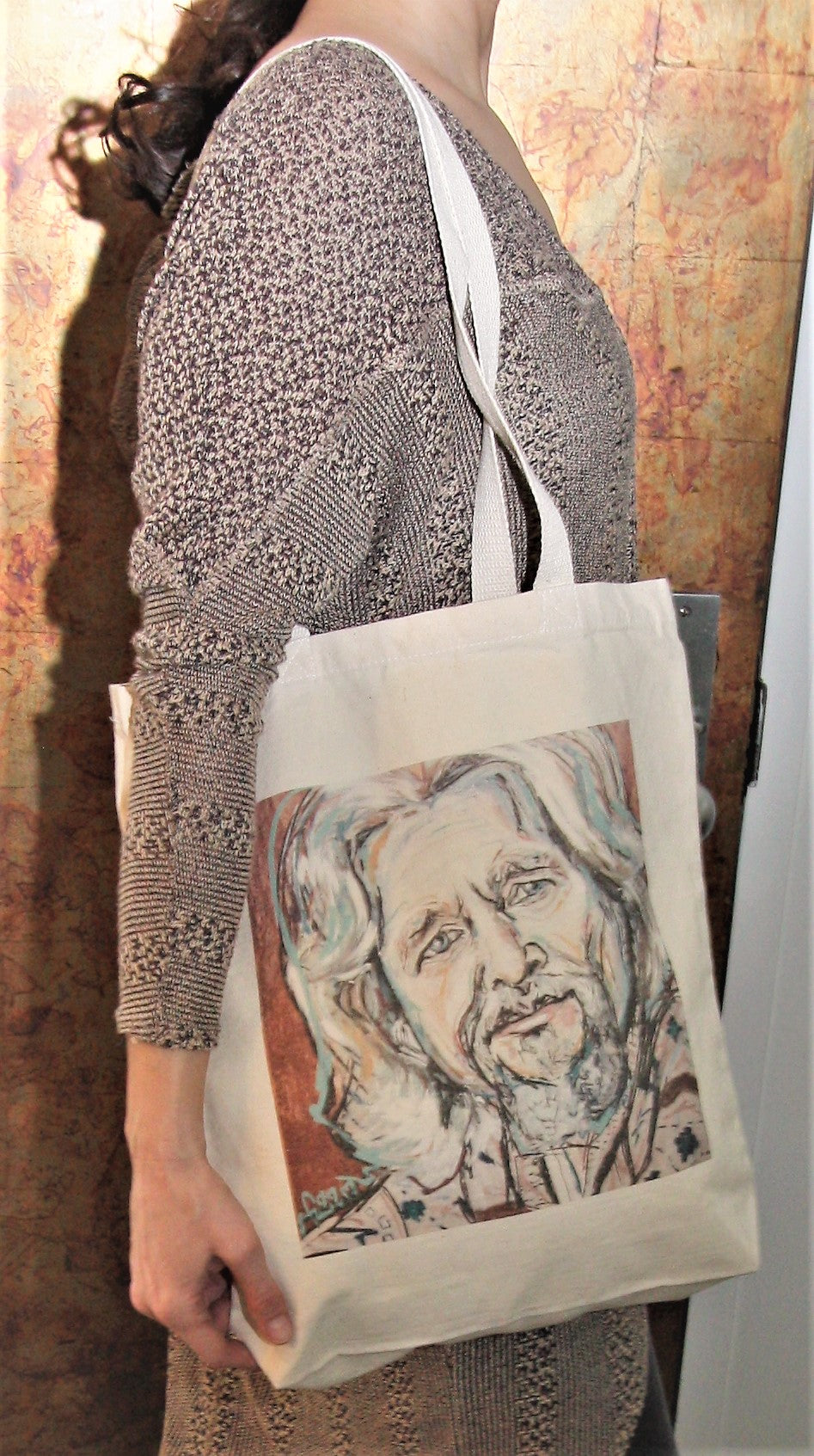 The Dude Canvas Tote Bag