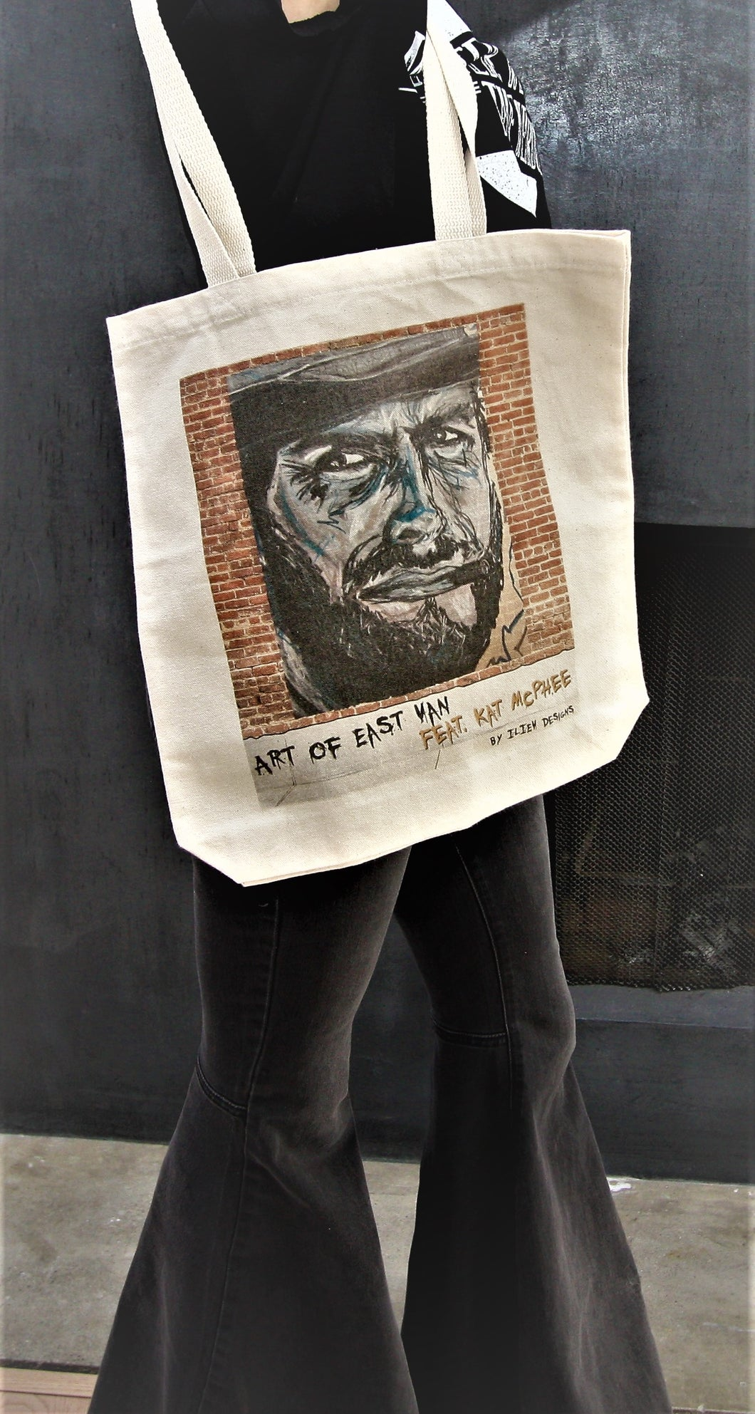 Clint Eastwood Canvas Tote Bag