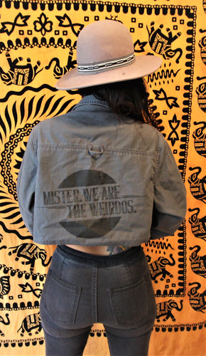 Mister, We Are the Weirdos Cropped Jacket