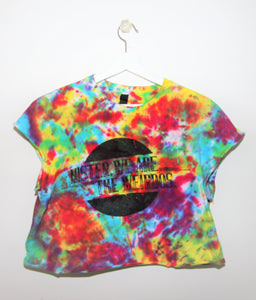 Mister, We Are the Weirdos Confetti Crop Top