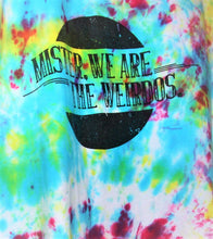 Load image into Gallery viewer, Upcycled Mister, We Are the Weirdos Confetti Cut Off Tank