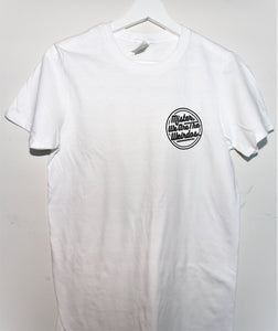 The Classic Logo Tee in White