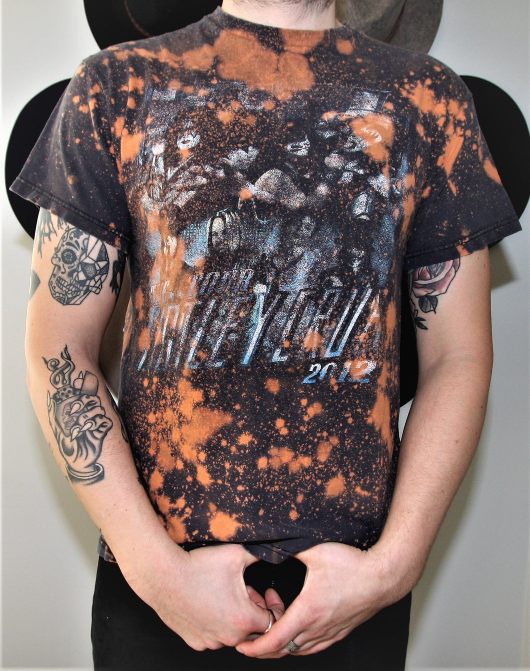 Motley Crue & KISS 2012 Tour - Heavily Distressed Tee