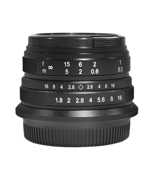 Manual Focus Lens For Micro Four Thirds M4/3 Mount Cameras