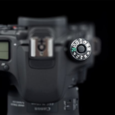 Dial Mode Plate For Canon EOS - Pixco
