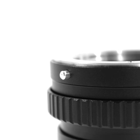 Minolta MD-Canon EOS M Macro Focusing Helicoid Adapter - Pixco - Provide Professional Photographic Equipment Accessories