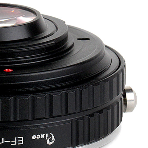 EF-Micro 4/3 Aperture Control Speed Booster Focal Reducer Adapter - Pixco - Provide Professional Photographic Equipment Accessories