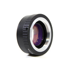 M42-Canon EOS M Speed Booster Focal Reducer Adapter - Pixco