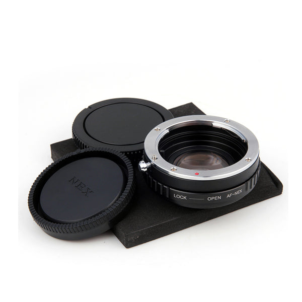 Sony A-Sony E Speed Booster Focal Reducer Adapter - Pixco