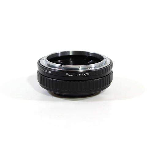 Canon FD-Fujifilm X Macro Focusing Helicoid Adapter - Pixco - Provide Professional Photographic Equipment Accessories