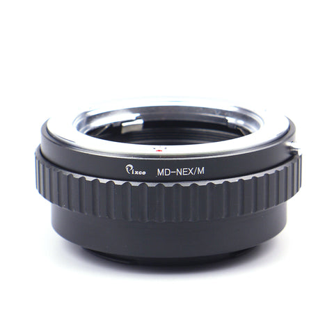 Minolta MD-Sony E Macro Focusing Helicoid Adapter - Pixco