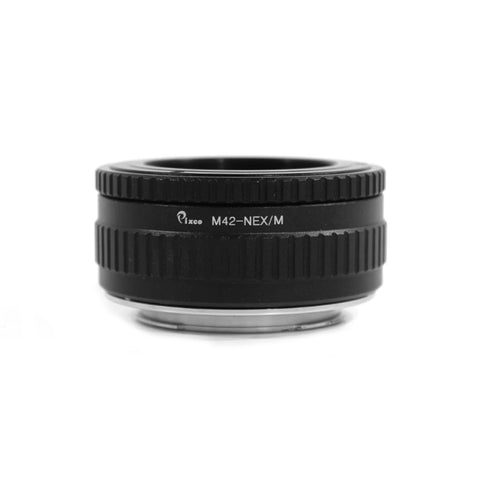 M42-Sony E Macro Focusing Helicoid Adapter - Pixco