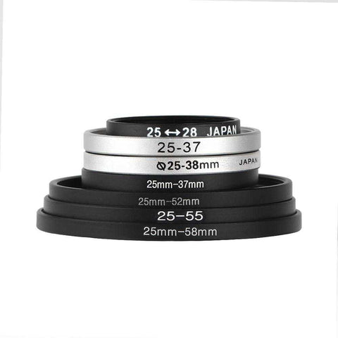 25mm Series Step Up Ring - Pixco - Provide Professional Photographic Equipment Accessories
