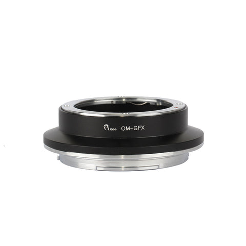 Olympus OM-FujiFilm GFX Adapter - Pixco - Provide Professional Photographic Equipment Accessories