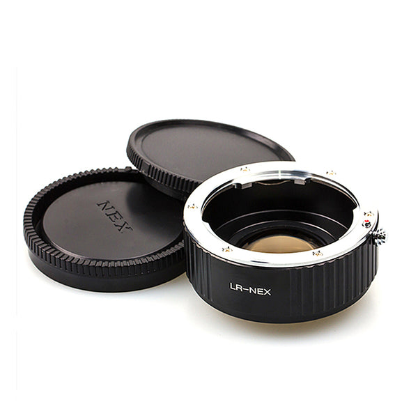 Leica R-Sony E Speed Booster Focal Reducer Adapter - Pixco
