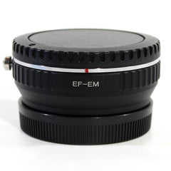 Canon EF-Canon M Speed Booster Focal Reducer Adapter - Pixco